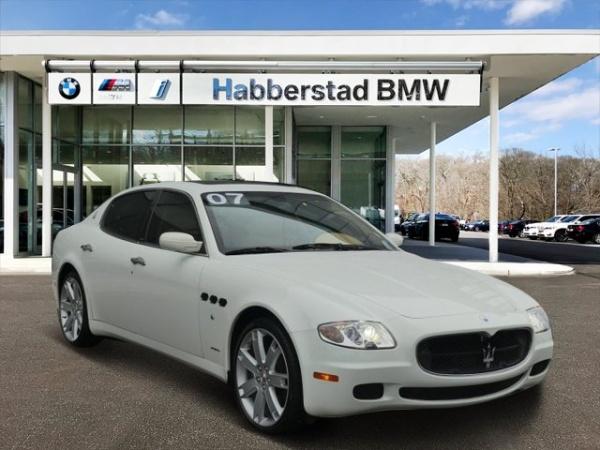 2007 Maserati Quattroporte 24988 00 For Sale In Bay Shore Ny