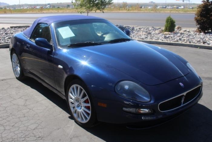 used Maserati Spyder 2002 vin: ZAMBB18A520006476