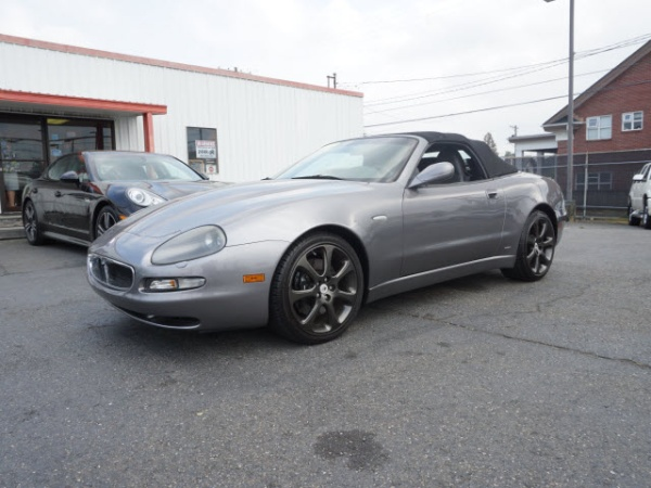 used Maserati Spyder 2003 vin: ZAMBB18A430010214