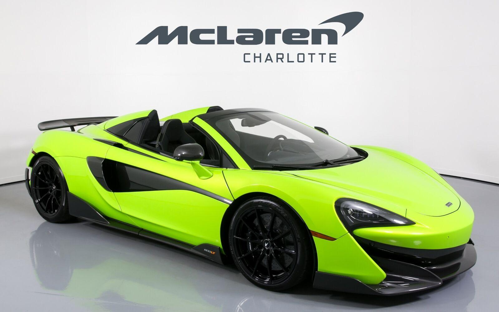 used McLaren 600LT 2020 vin: SBM13SAAXLW008078