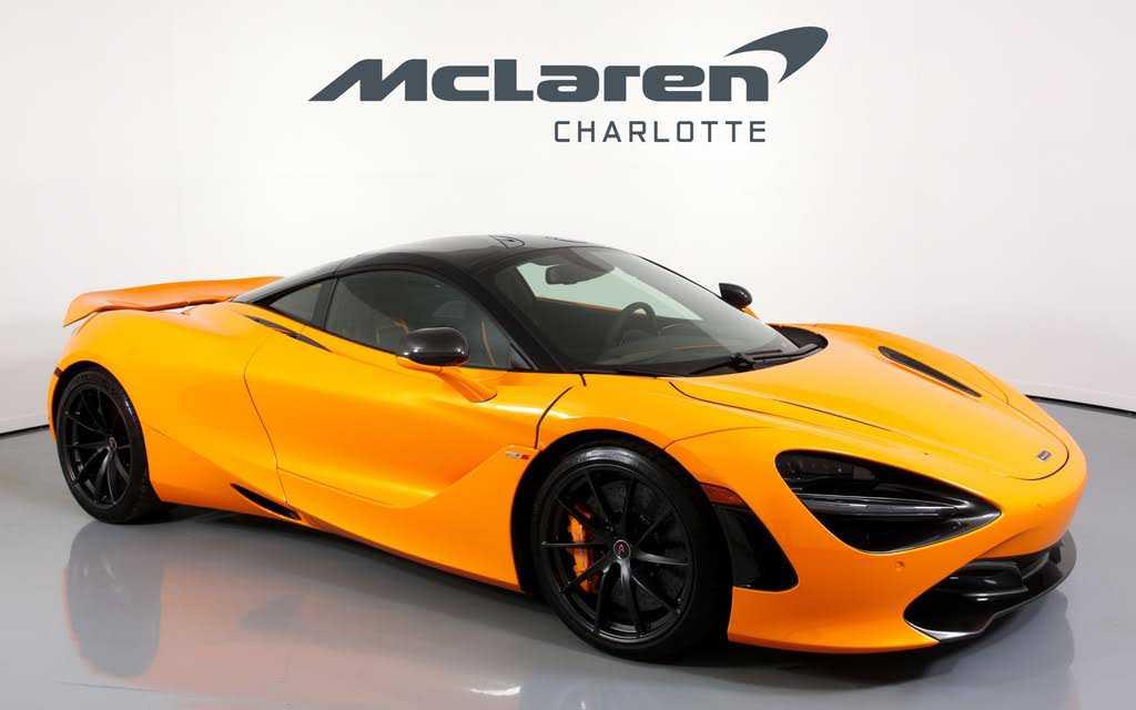 used McLaren 720S 2018 vin: SBM14DCA4JW000836