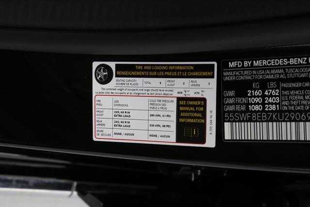 used Mercedes-Benz C-Class 2019 vin: 55SWF8EB7KU290693