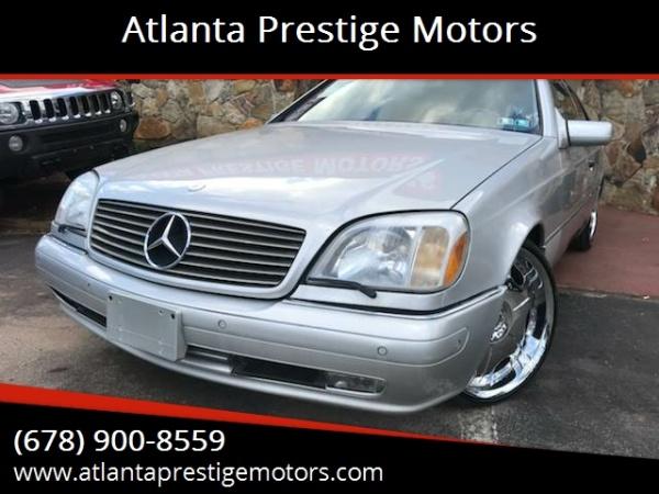Mercedes-Benz CL-Class 1998 $9498.00 incacar.com