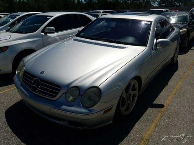 Mercedes-Benz CL-Class 2001 $7500.00 incacar.com