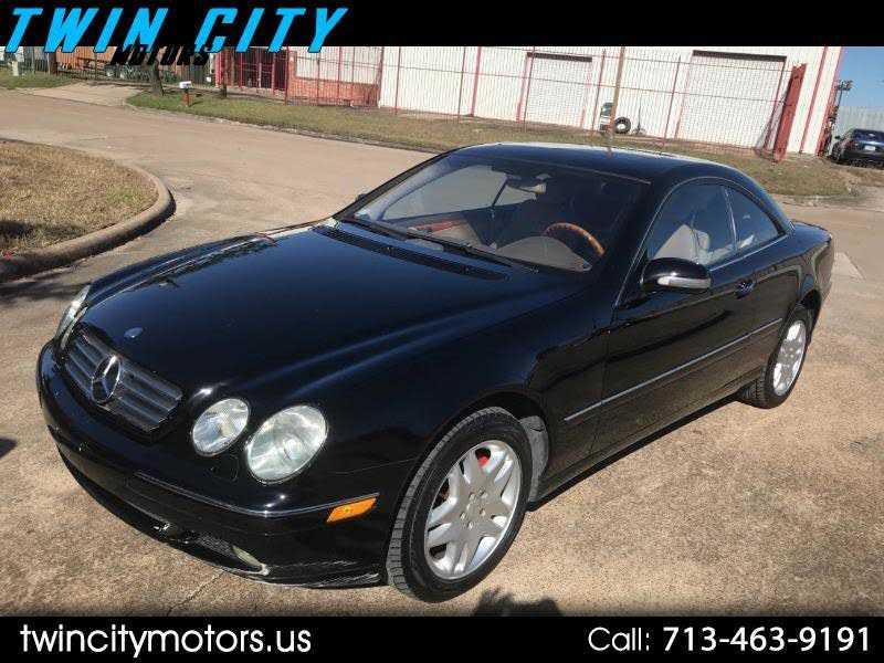 Mercedes-Benz CL-Class 2002 $4850.00 incacar.com