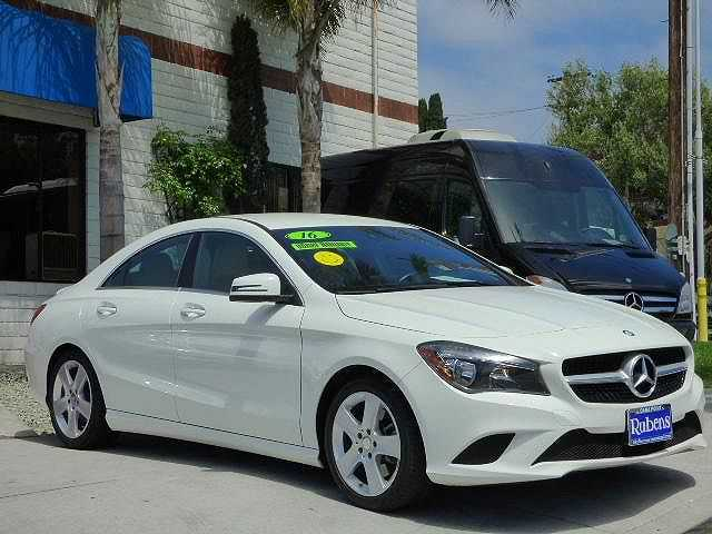 Mercedes-Benz CLA-Class 2016 $23995.00 incacar.com
