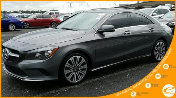 Mercedes-Benz CLA-Class 2018 $25750.00 incacar.com