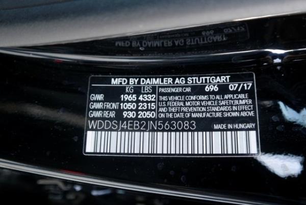Mercedes-Benz CLA-Class 2018 $25988.00 incacar.com