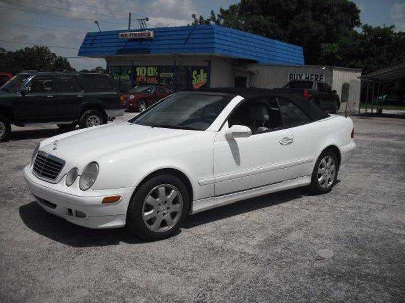 Mercedes-Benz CLK-Class 2000 $2995.00 incacar.com