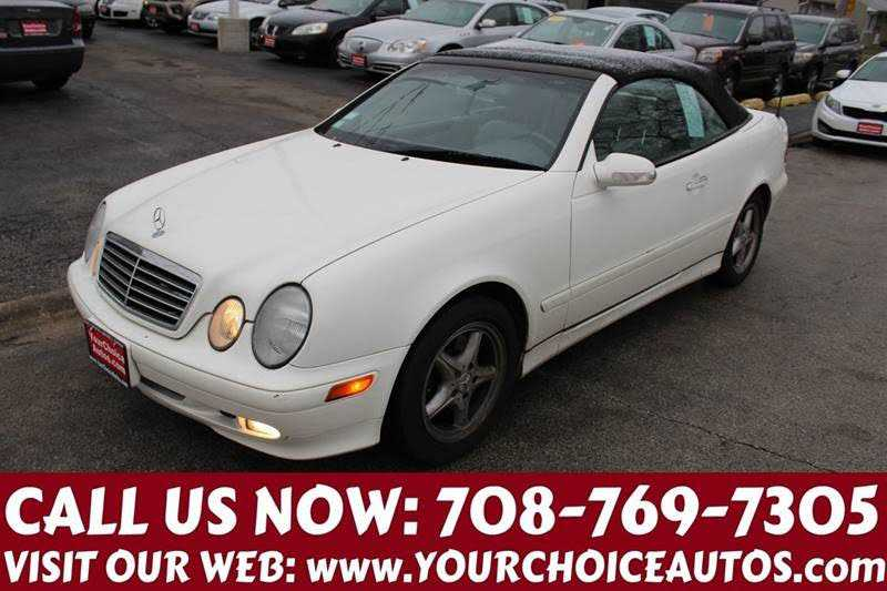 used Mercedes-Benz CLK-Class 2002 vin: WDBLK65G82T110522