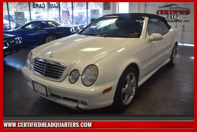 Mercedes-Benz CLK-Class 2002 $8988.00 incacar.com