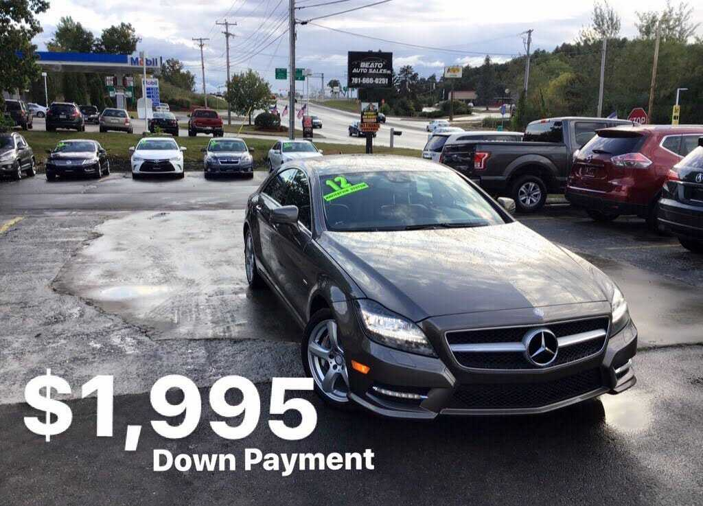 used Mercedes-Benz CLS-Class 2012 vin: WDDLJ9BB8CA036715