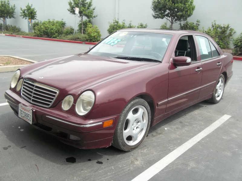 Mercedes-Benz E-Class 2001 $2495.00 incacar.com