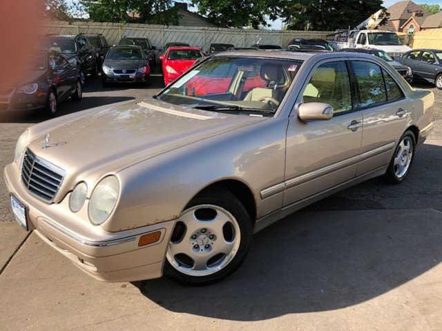 Mercedes-Benz E-Class 2002 $2980.00 incacar.com