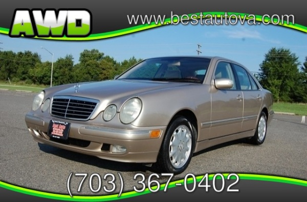 Mercedes-Benz E-Class 2002 $3899.00 incacar.com