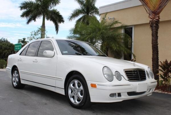 Mercedes-Benz E-Class 2002 $7950.00 incacar.com