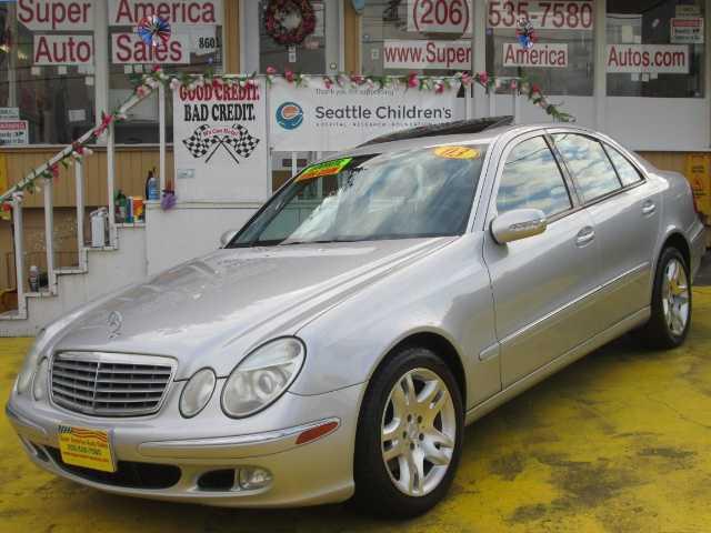 Mercedes-Benz E-Class 2003 $5499.00 incacar.com