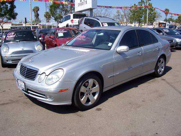 Mercedes-Benz E-Class 2003 $6995.00 incacar.com