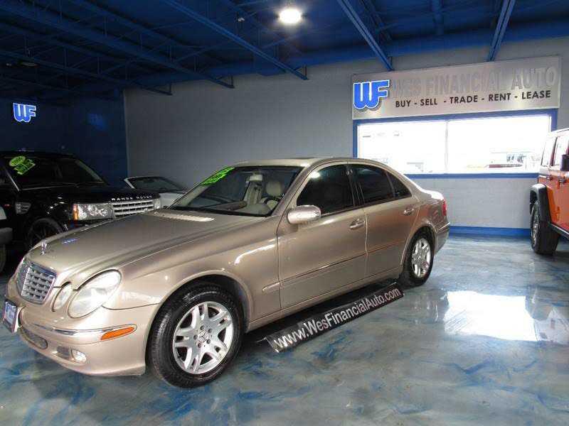 Mercedes-Benz E-Class 2003 $4995.00 incacar.com