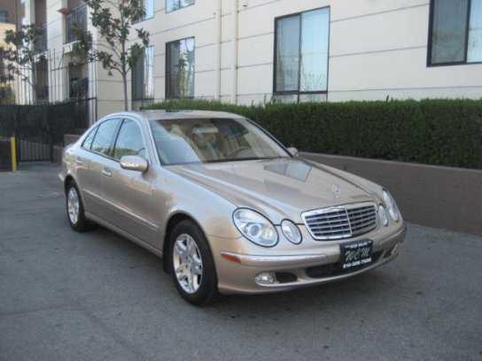Mercedes-Benz E-Class 2005 $4450.00 incacar.com