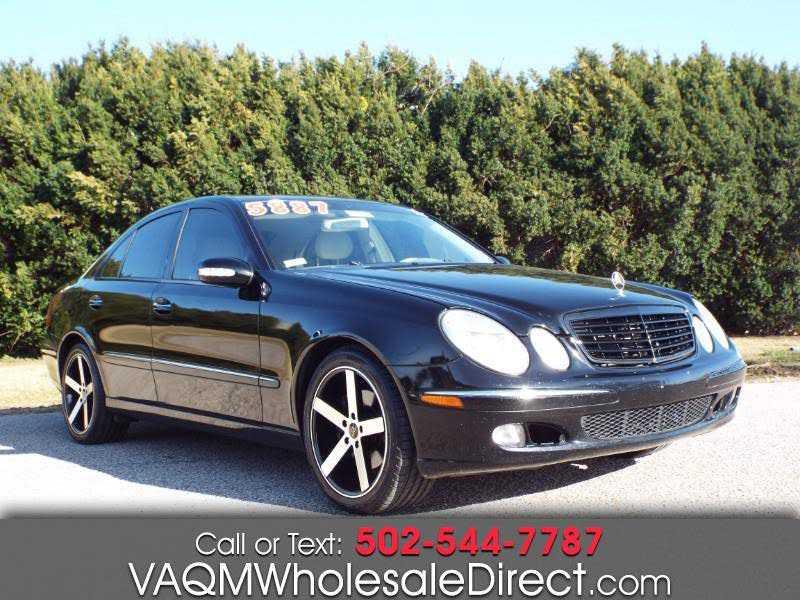 Mercedes-Benz E-Class 2006 $4995.00 incacar.com