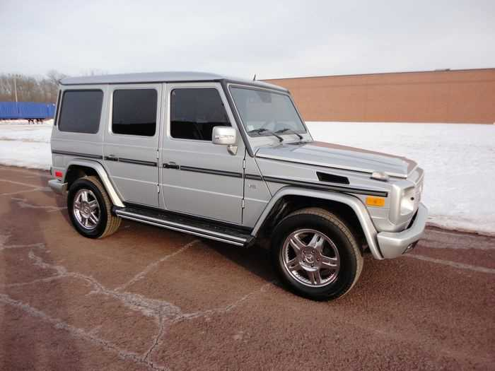 used Mercedes-Benz G-Class 2002 vin: WDCYR49E02X131125