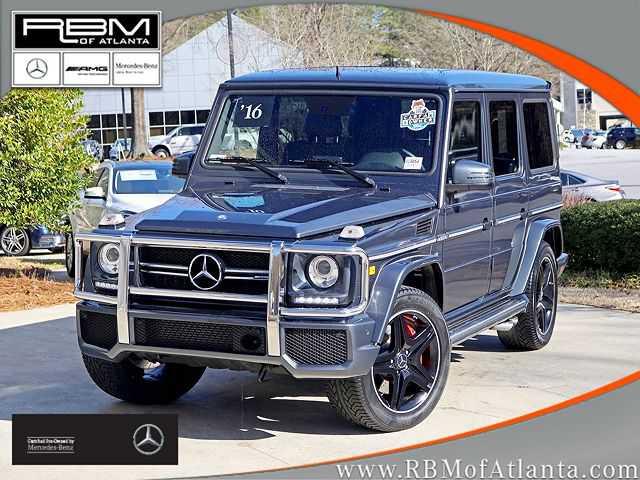 Mercedes-Benz G-Class 2016 $104875.00 incacar.com