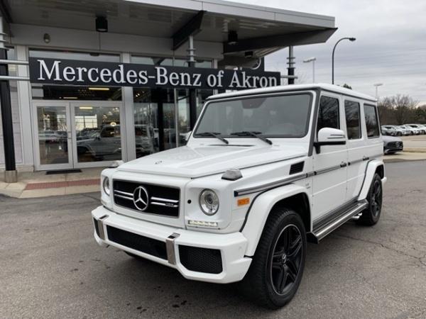 Mercedes-Benz G-Class 2017 $114716.00 incacar.com