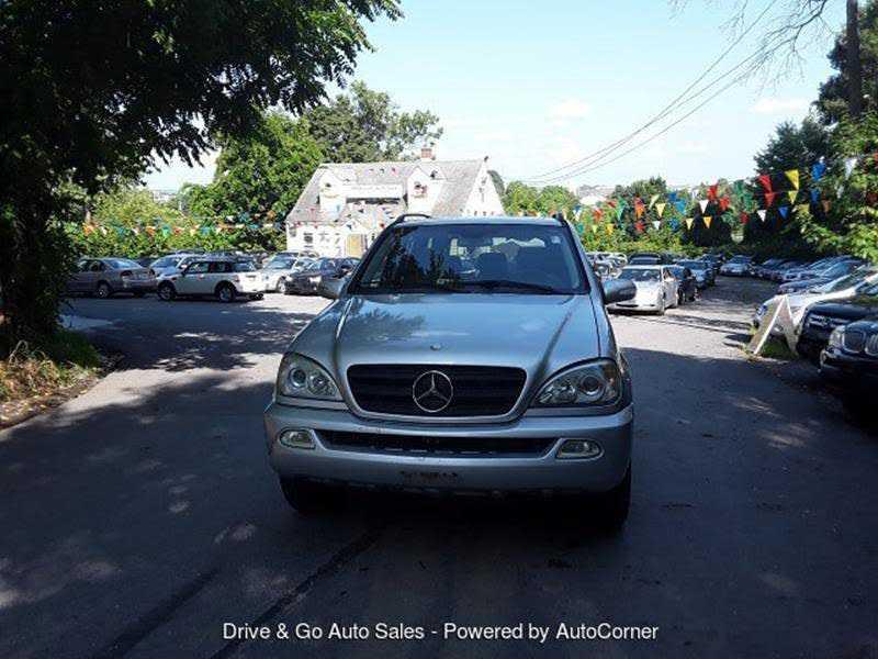 Mercedes-Benz M-Class 2002 $4399.00 incacar.com