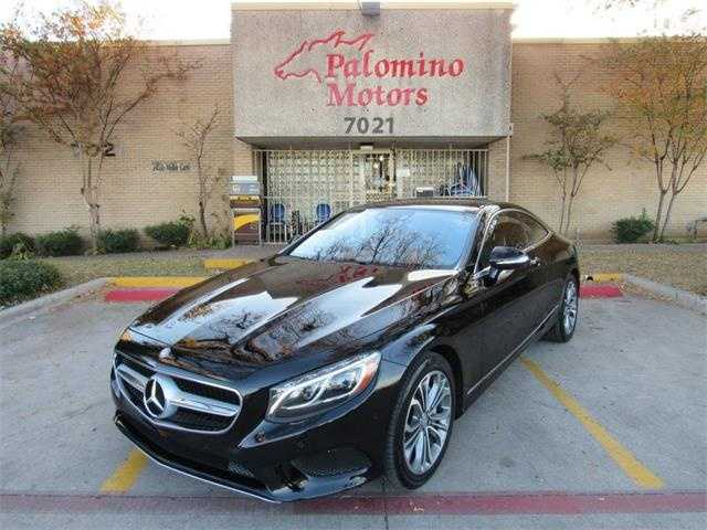 Mercedes-Benz S-Class Coupe 2016 $69990.00 incacar.com
