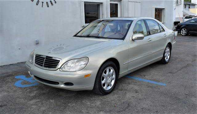 used Mercedes-Benz S-Class 2001 vin: WDBNG75J21A151704