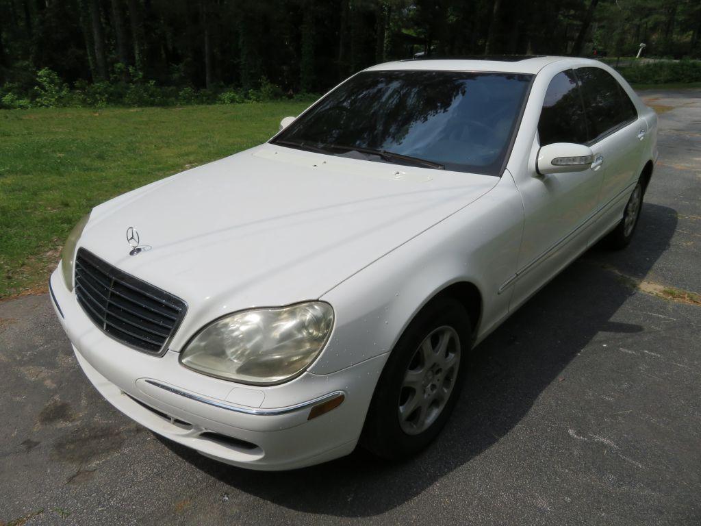 Mercedes-Benz S-Class 2004 $3080.00 incacar.com