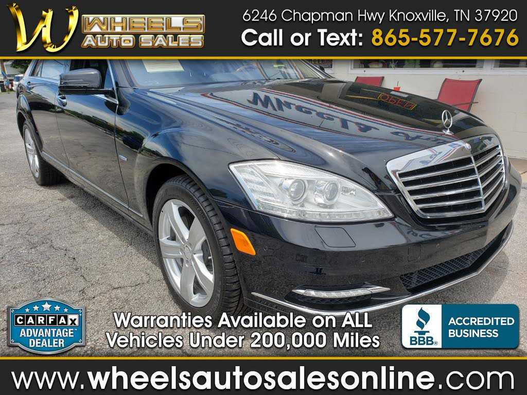 used Mercedes-Benz S-Class 2012 vin: WDDNG9EB2CA430729