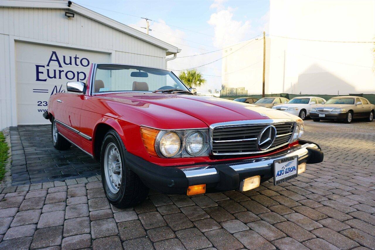 Mercedes-Benz SL-Class 1985 $9900.00 incacar.com