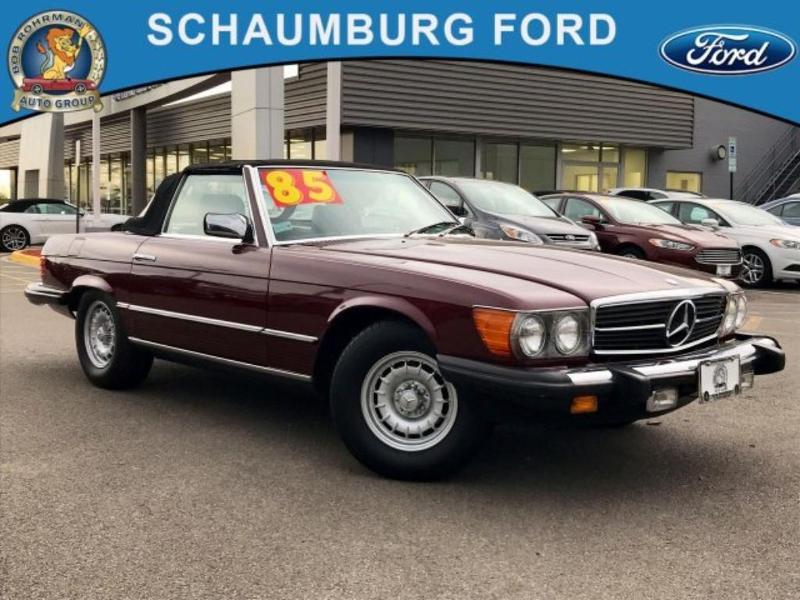 Mercedes-Benz SL-Class 1985 $19900.00 incacar.com
