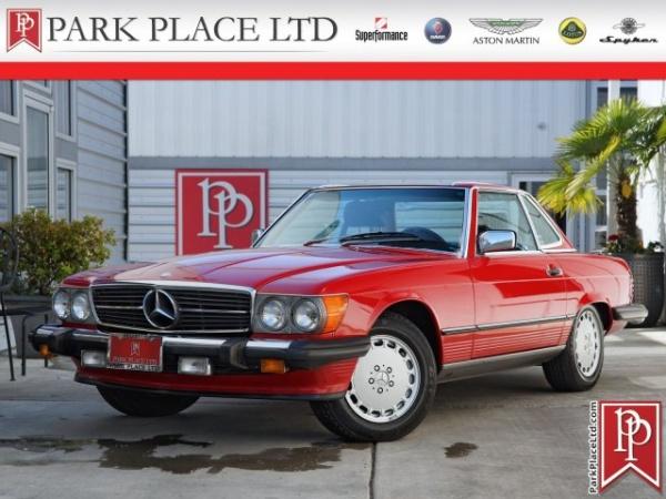 Mercedes-Benz SL-Class 1987 $25950.00 incacar.com