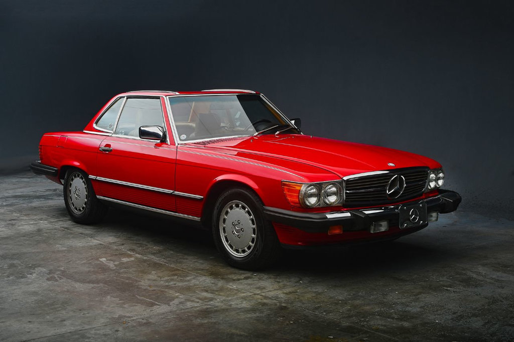 Mercedes-Benz SL-Class 1987 $49900.00 incacar.com