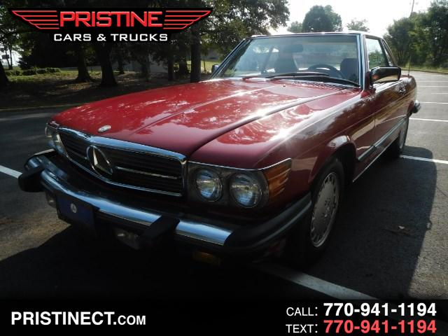 Mercedes-Benz SL-Class 1987 $19995.00 incacar.com