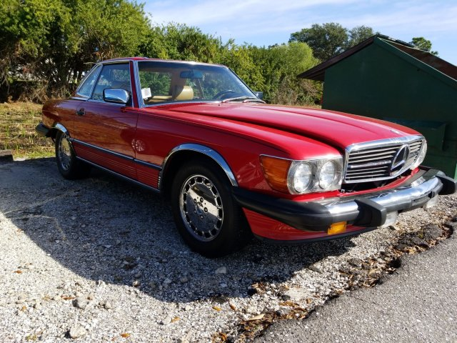Mercedes-Benz SL-Class 1987 $12879.00 incacar.com