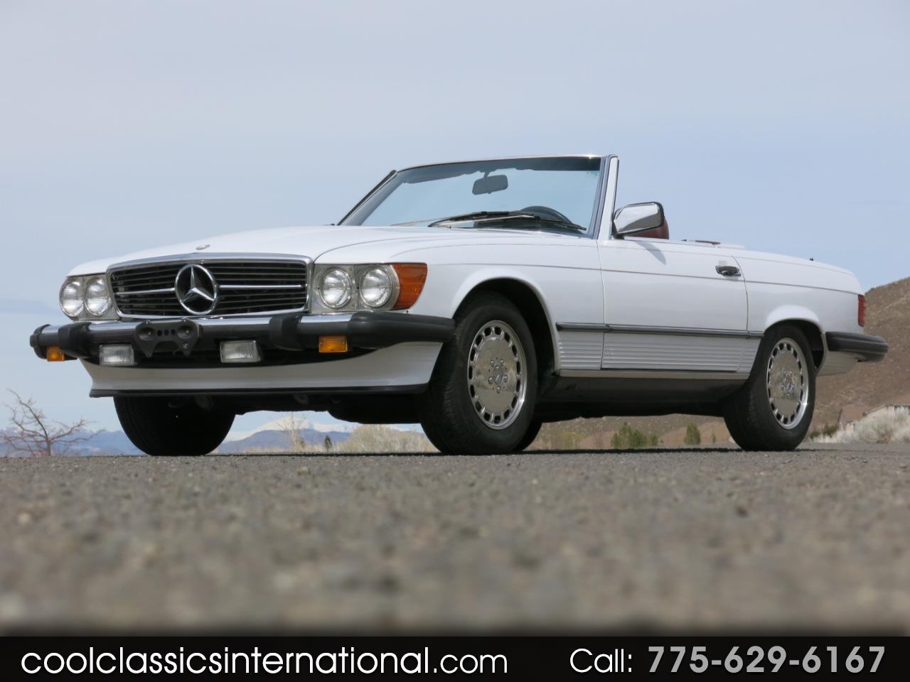 Mercedes-Benz SL-Class 1988 $34900.00 incacar.com