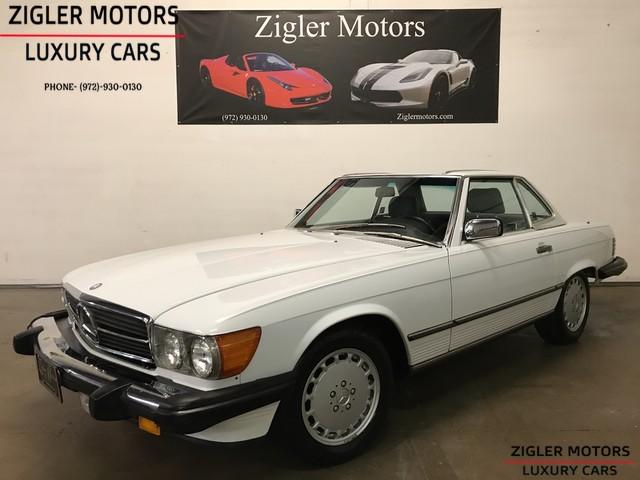 Mercedes-Benz SL-Class 1988 $24900.00 incacar.com
