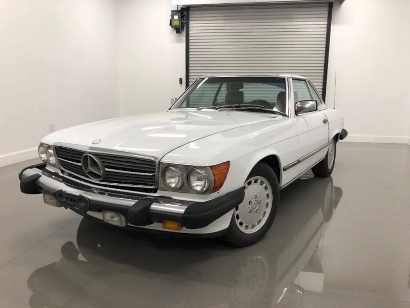 Mercedes-Benz SL-Class 1989 $11000.00 incacar.com
