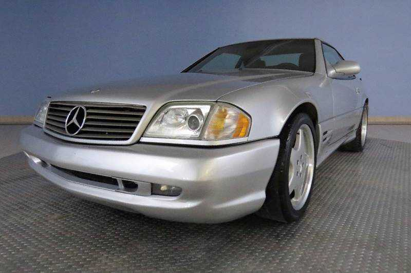 Mercedes-Benz SL-Class 2002 $16975.00 incacar.com