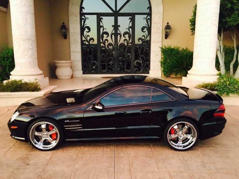 Mercedes-Benz SL-Class 2003 $43950.00 incacar.com