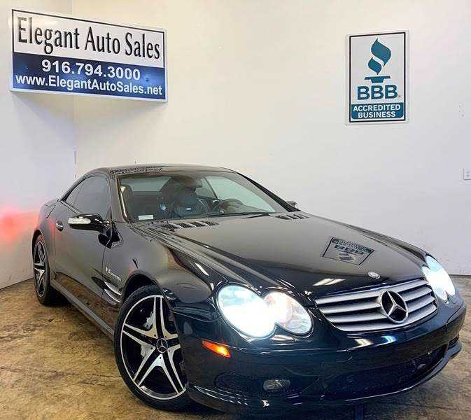 used Mercedes-Benz SL-Class 2004 vin: WDBSK74F44F077045