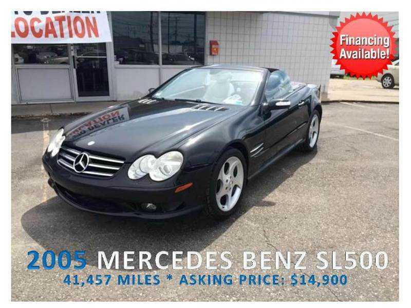 Mercedes-Benz SL-Class 2005 $16900.00 incacar.com
