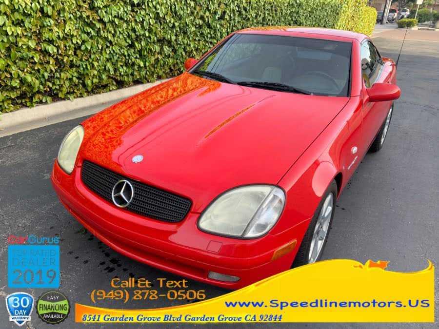 Mercedes-Benz SLK-Class 1999 $5990.00 incacar.com