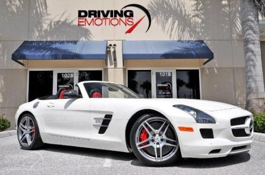 used Mercedes-Benz SLS AMG 2012 vin: WDDRK7HA7CA006874