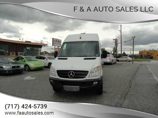 Mercedes-Benz Sprinter 2013 $12900.00 incacar.com