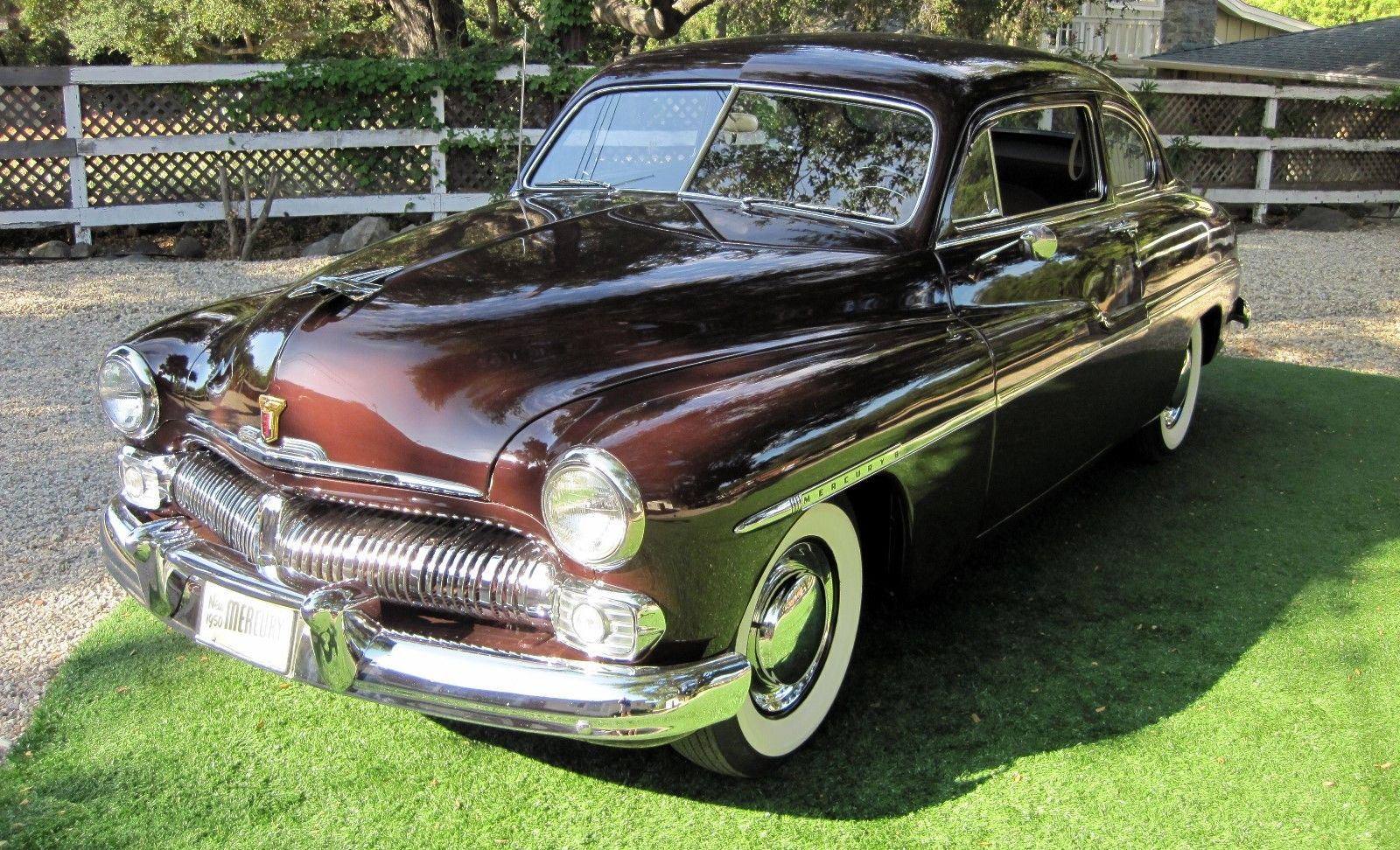 used Mercury Coupe 1950 vin: 50LA43196M